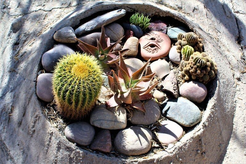 Cosanti Paolo Soleri studia, raj Dolinny Scottsdale Arizona, Stany Zjednoczone obrazy stock