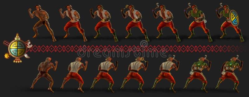 cosaque photo libre de droits