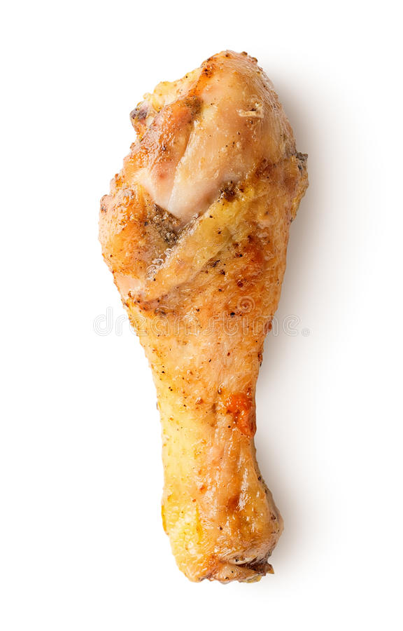 Coscia di pollo fotografia stock