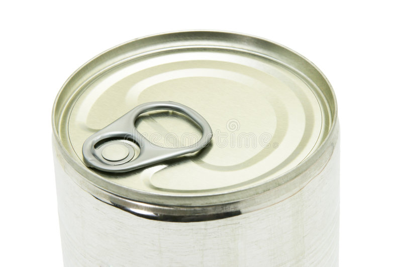 Download Cose Up Of Unopened Tin Can Stock Image - Image: 3908023