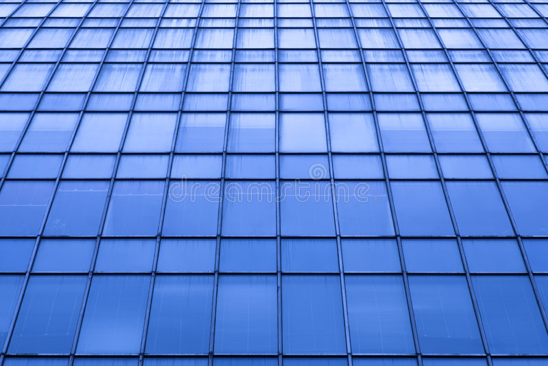 Cosecha abstracta del rascacielos moderno de la oficina fotos de archivo libres de regalías