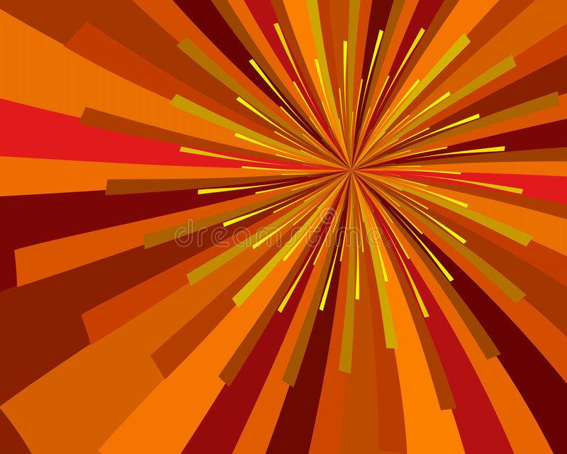 Cosecha Sun ilustración del vector