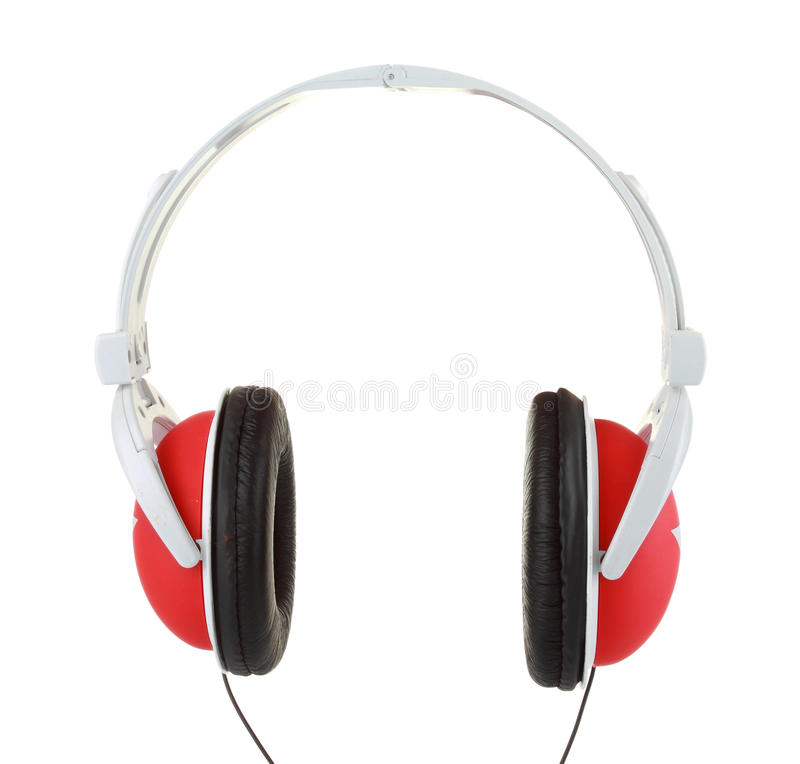 Coseup Of Headphones Stock Photos