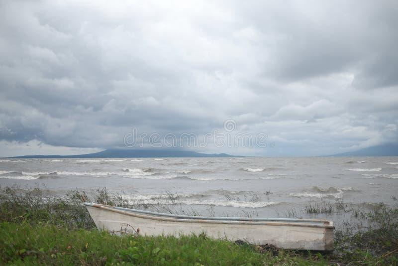 Cosibolcameer in Nicaragua stock afbeeldingen