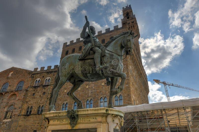 Cosimo我de ` Medici -佛罗伦萨,意大利 库存图片
