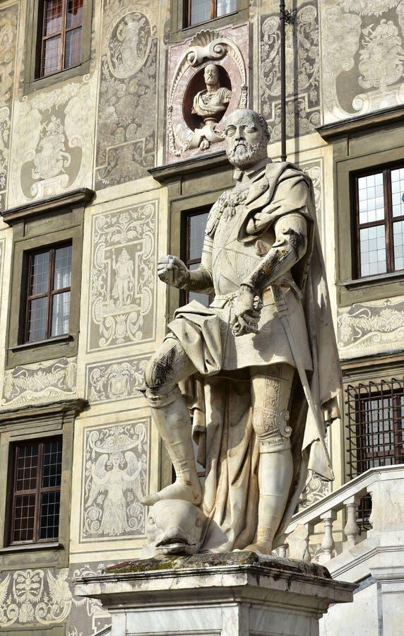 Cosimo I, storslagen hertig av Tuscany arkivfoton