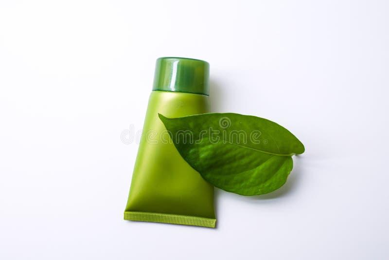 Cosmético verde fotos de stock royalty free