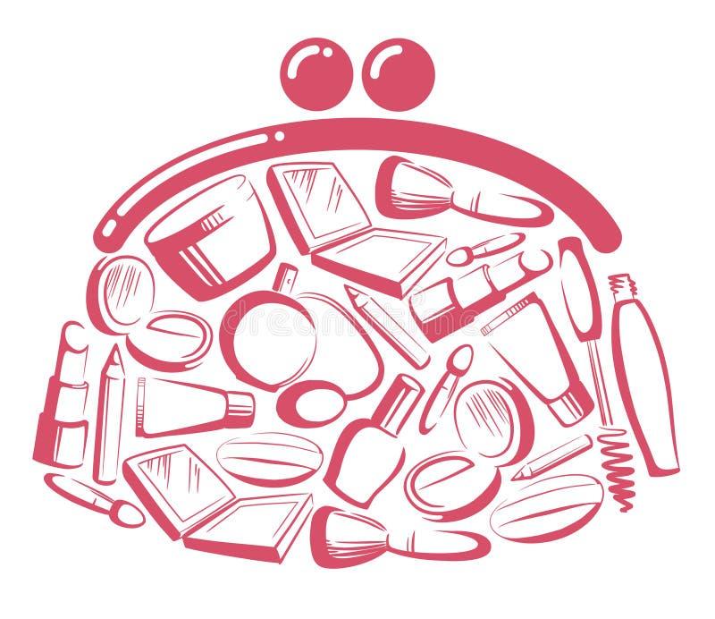 Cosméticos Ilustración del vector libre illustration