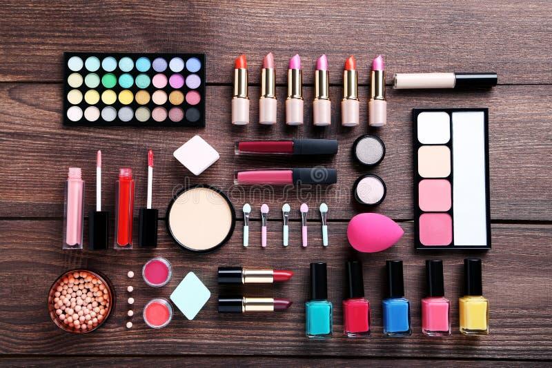 Cosmétiques de maquillage photos stock