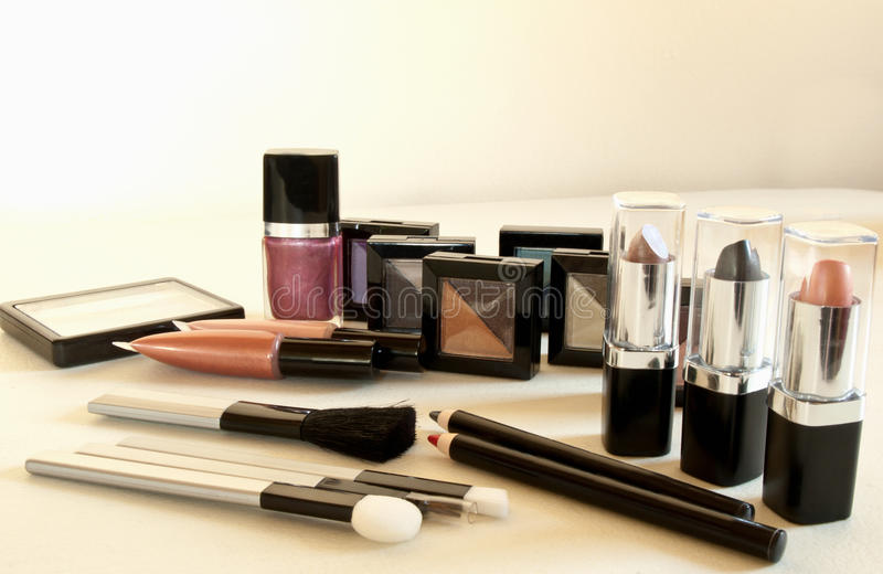 Download Cosmetic assortment stock photo. Image of blush, lipgloss - 21892564
