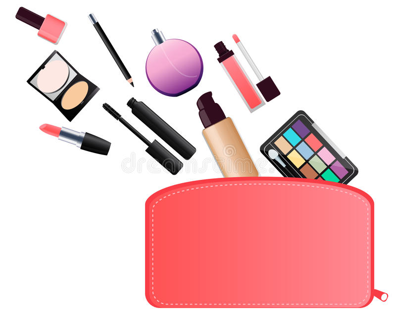 cosmetic bag stock vector illustration of gloss modern 57449118 rh dreamstime com