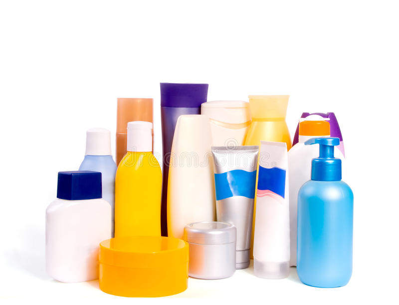 Cosmetic Bottles 2 Stock Photo