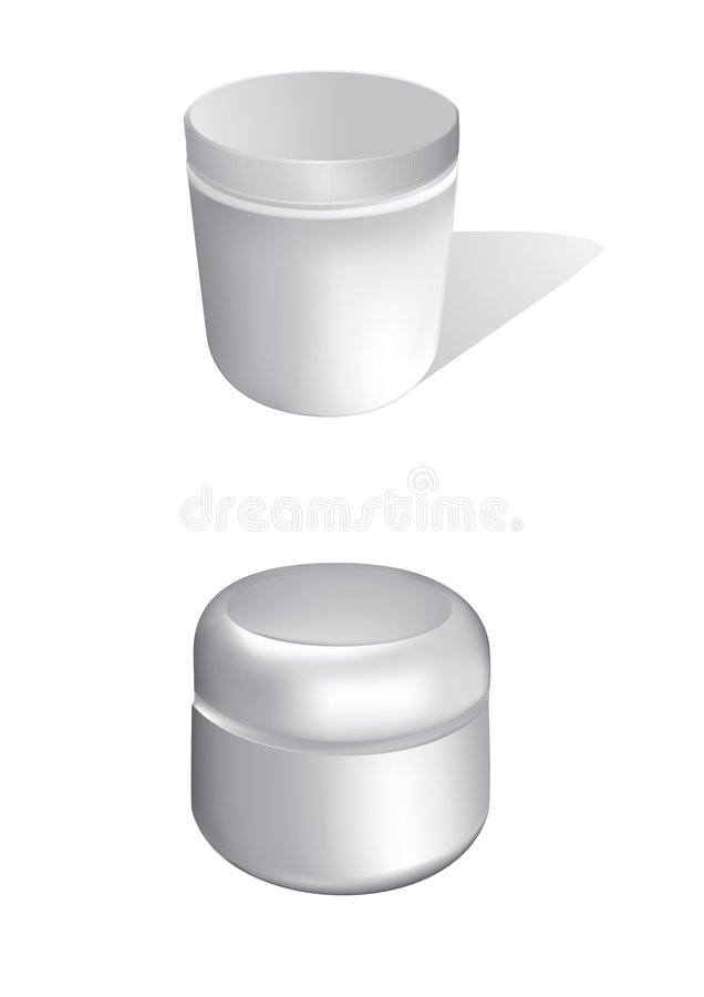 Cosmetic Bottles Stock Images