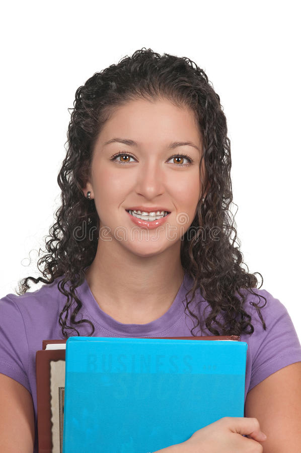 Download Cosmetic Braces stock image. Image of student, lips, school - 12660463