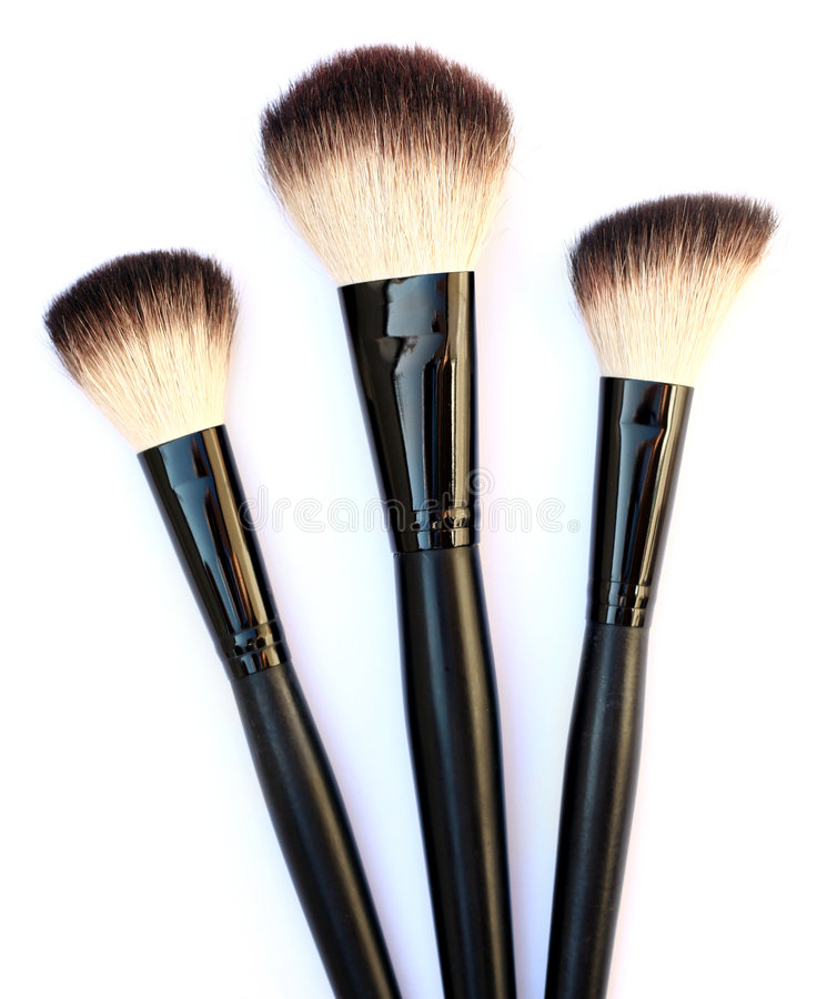 Download Cosmetic brushes stock photo. Image of body, complete - 6804246