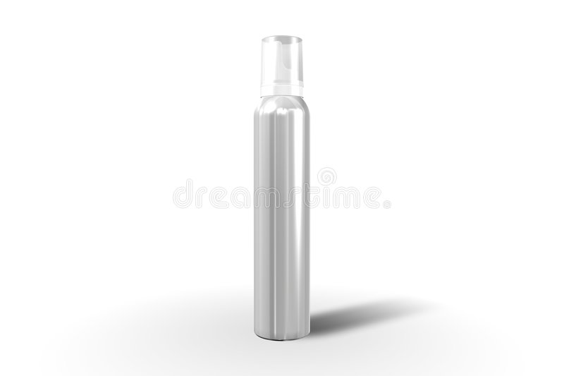 Cosmetic container. Templates for designers. Editable stock illustration