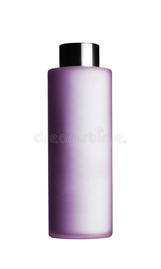 Cosmetic container royalty free stock photography