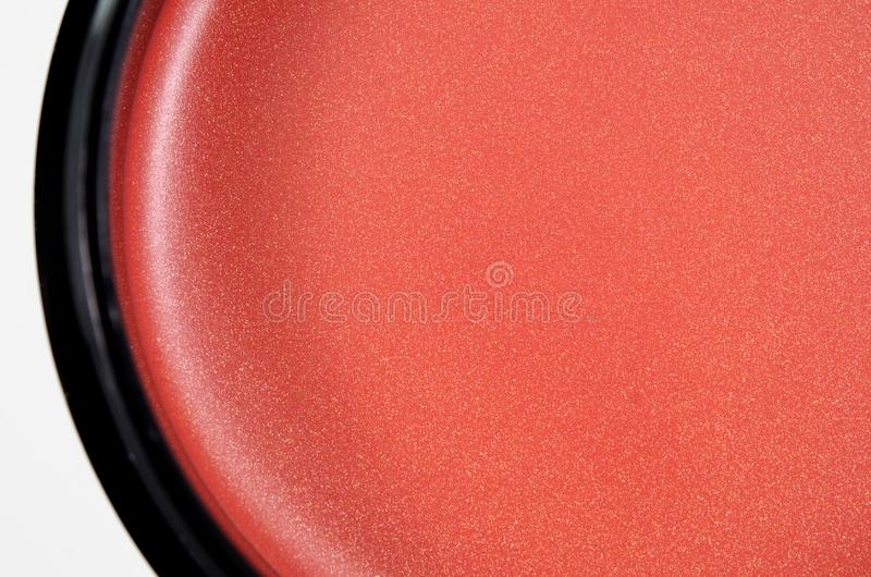 Cosmetic cream with shimmer texture. For cheek eye and lip background stock photos