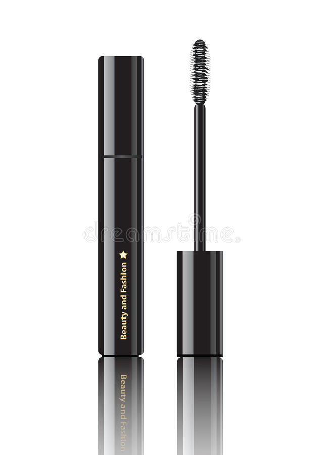 Download Cosmetic ink stock illustration. Image of applicator - 24998162