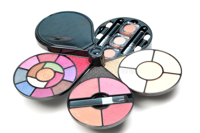 Download Cosmetic kit stock image. Image of make, salon, colorfull - 9297285