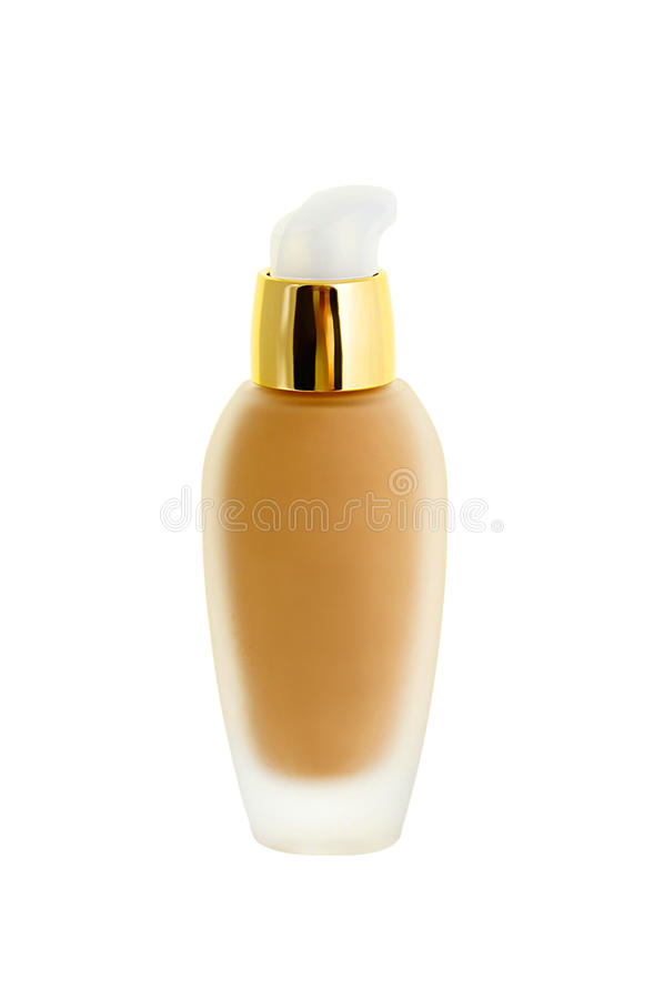 Download Cosmetic liquid foundation stock image. Image of cover - 26160485