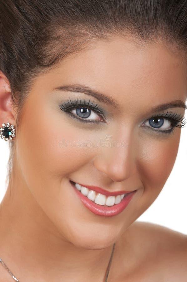 Download Cosmetic Make Up stock photo. Image of smile, eyebrow - 22066928