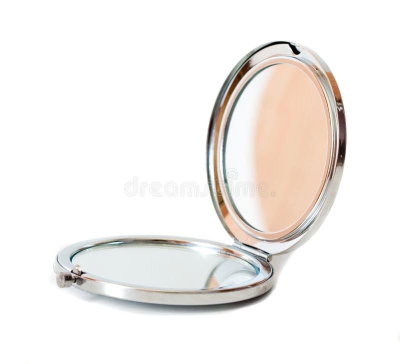 Cosmetic mirror royalty free stock photo