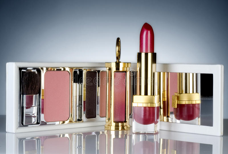Cosmetic packaging stock photos