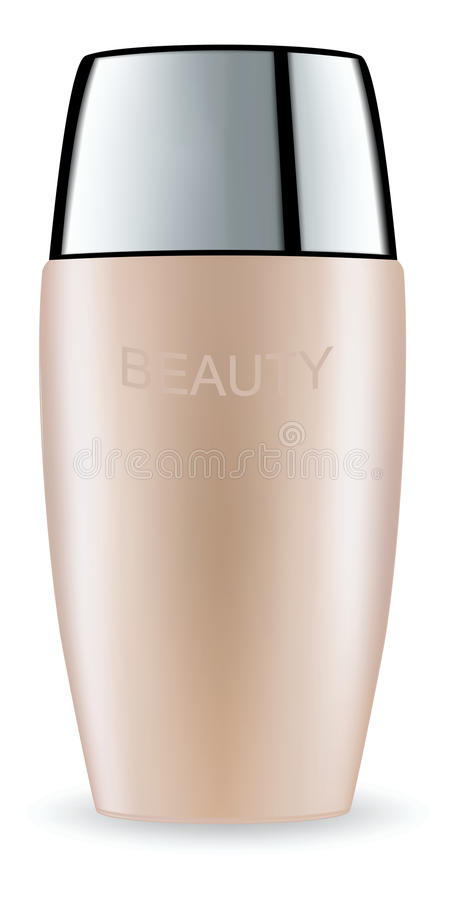 Download Cosmetic Packaging Plastic Tube. Vector. Stock Vector - Image: 83712492