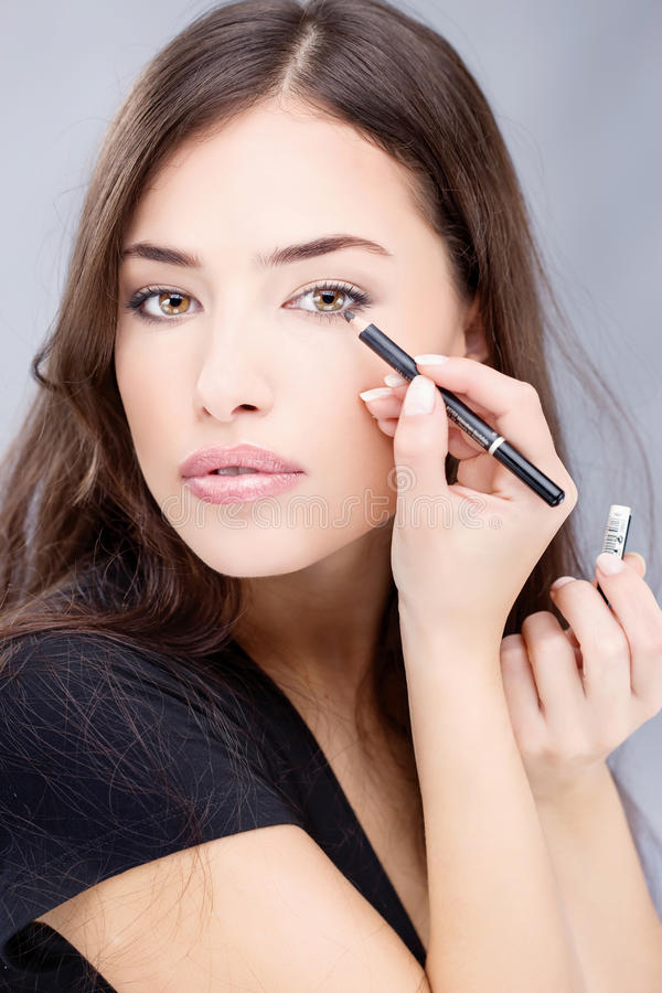 Cosmetic Pencil Stock Images