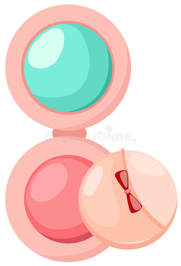 Download Cosmetic powder stock vector. Illustration of object - 15957881