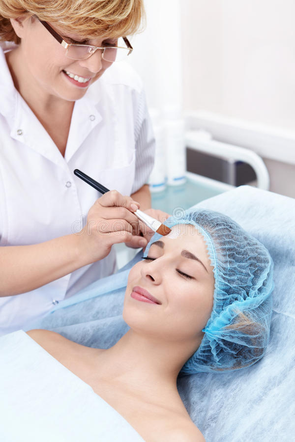 Cosmetic procedure stock photos