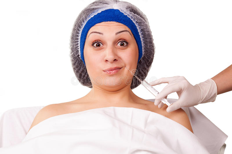 Download Cosmetic Procedure Botox Injections Stock Image - Image: 26255061