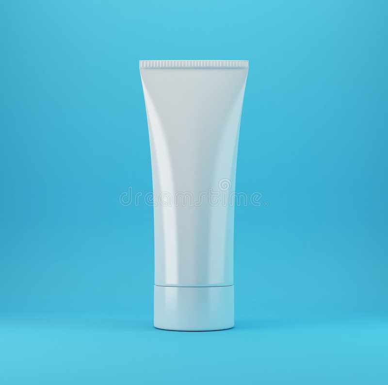 Cosmetic Products 1 - Blue royalty free stock images