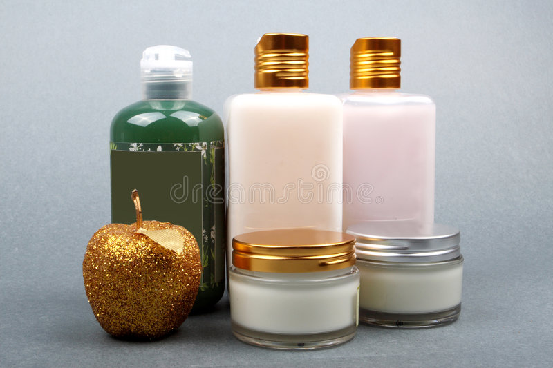 Cosmetic skincare product royalty free stock image
