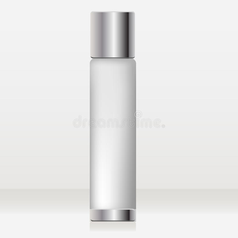 Cosmetic tube vector illustration