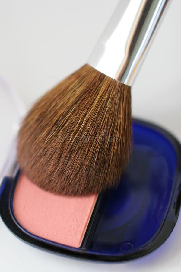 Cosmetici - arrossisca immagini stock libere da diritti