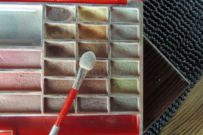 Cosmetici Ombretto fotografie stock