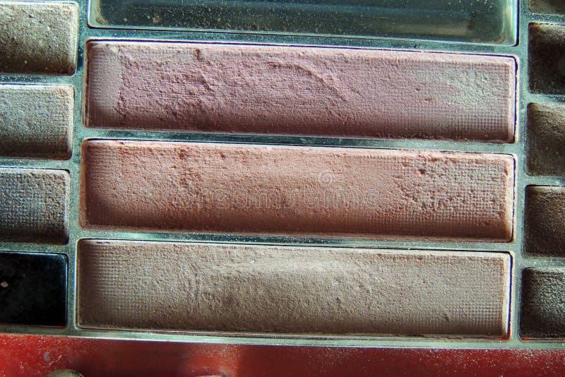 Cosmetici Ombretto fotografia stock