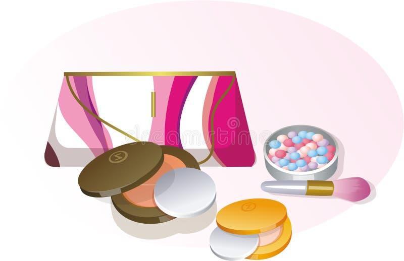 Download Cosmetics stock illustration. Image of girl, fashion, cosmetics - 8330335