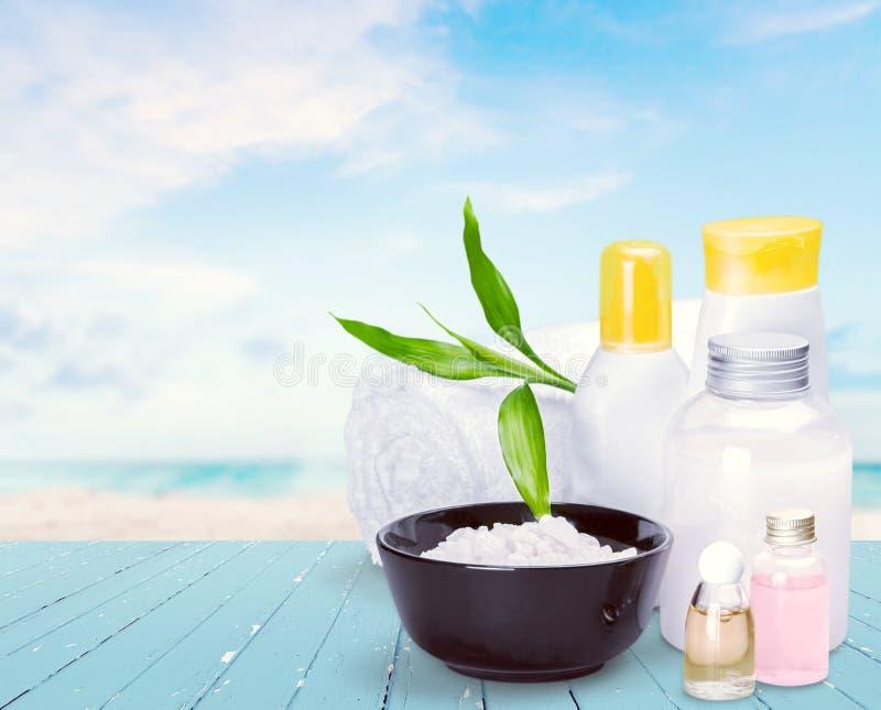 Cosmetics. Beauty treatment moisturizer spa treatment beauty nature health spa royalty free stock images