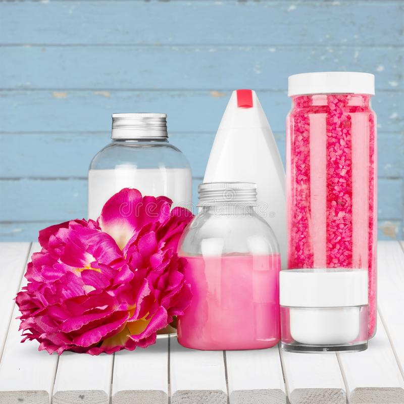 Cosmetics. Make-up merchandise gift beauty treatment luxury beauty stock image