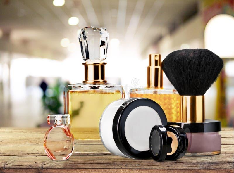 Cosmetics. Make-up perfume beauty personal accessory fashion lipstick royalty free stock photos