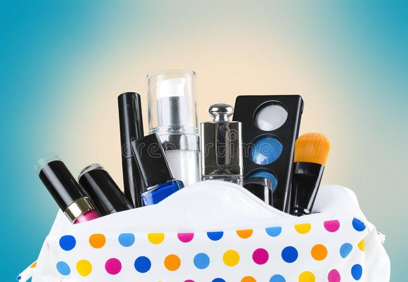 Cosmetics. Perfume scented perfume sprayer bottle spray spraying royalty free stock photos