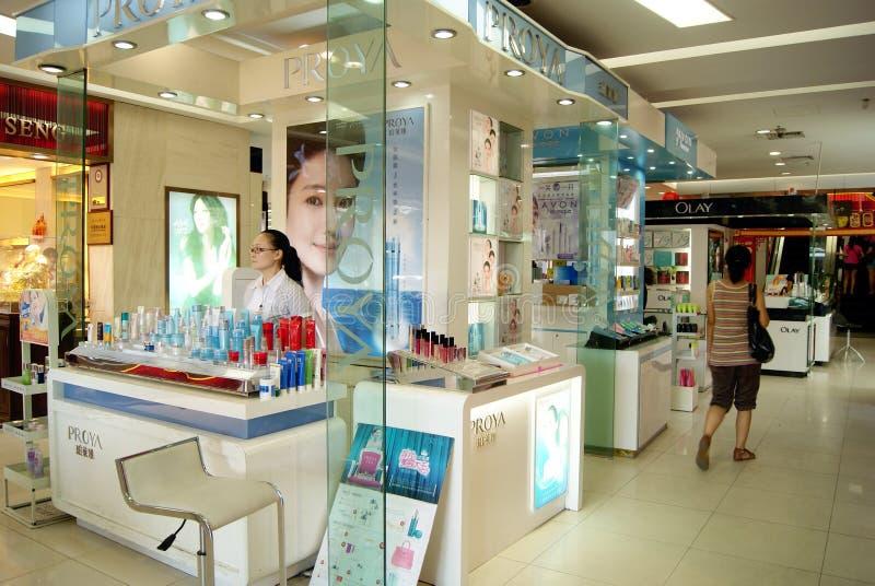 Cosmetics counter royalty free stock photo