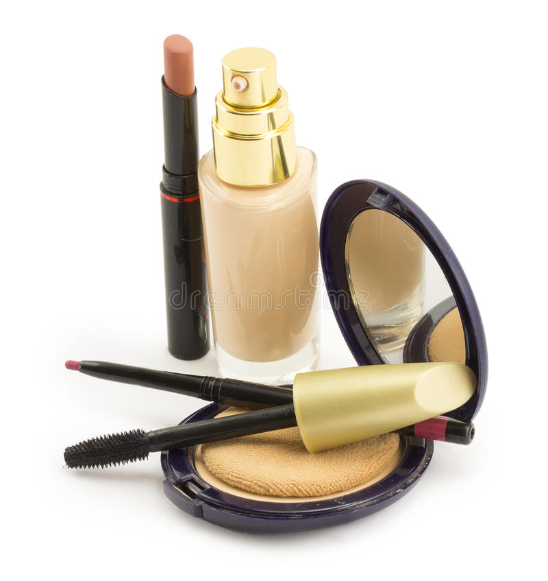 Cosmetics for face royalty free stock images