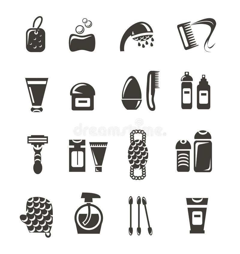 Free Cosmetics Icons Royalty Free Stock Images - 34524549