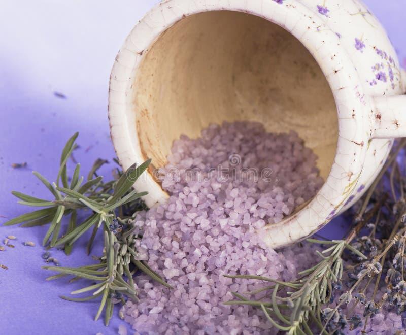 cosmetics lavender spa στοκ φωτογραφία