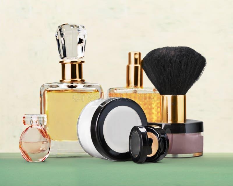 Cosmetics. Make-up perfume beauty personal accessory fashion lipstick stock photography