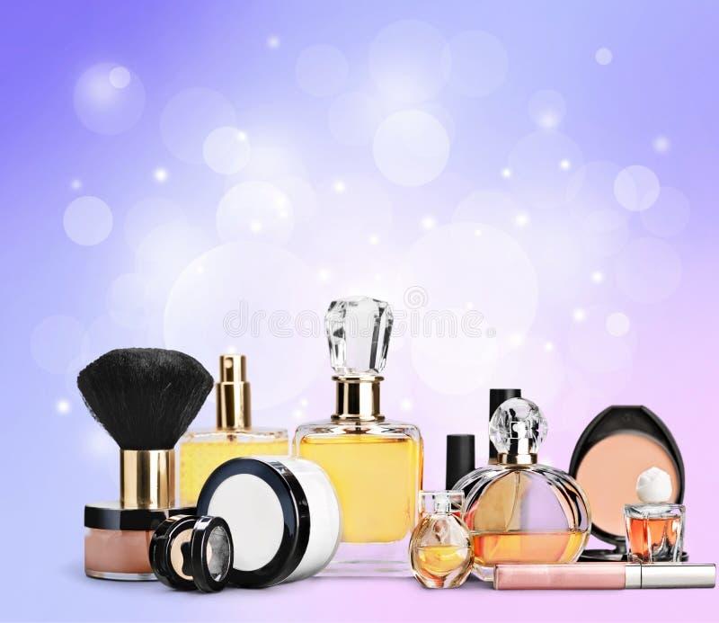 Cosmetics. Make-up perfume beauty personal accessory fashion lipstick stock photo